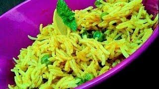Peas Pulav (Spicy Matar Pulav) | Matar Pulao – Veg Pulao Recipe