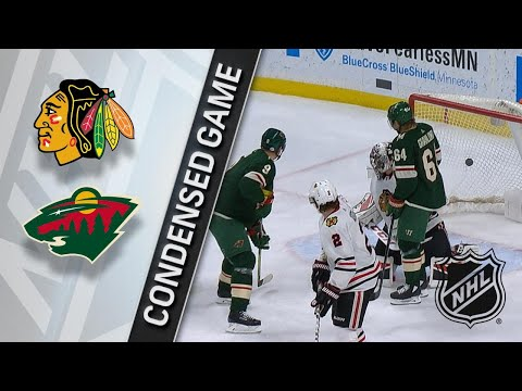 02/10/18 Condensed Game: Blackhawks @ Wild