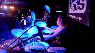 """""""Convergence"""" (Dave Weckl) Drum Cover by Holly Barnett"""
