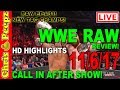 🔴 WWE RAW 11/6/17 LIVE REVIEW!