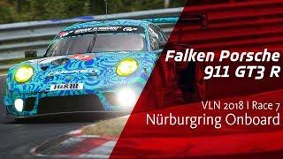 Onboard Falken Porsche    VLN Race 7