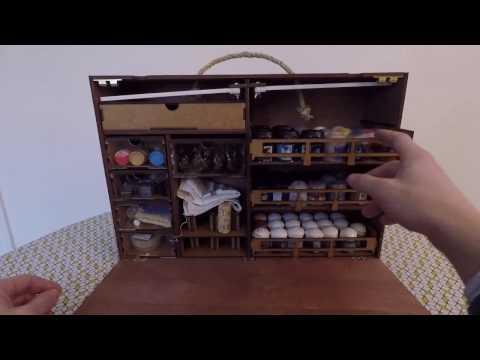 Hobby : Frontier Wargaming Paint Case, la station de peinture mobile