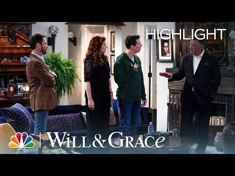 What Did Malcolm Say to Stan?  Will & Grace Episode Highlight