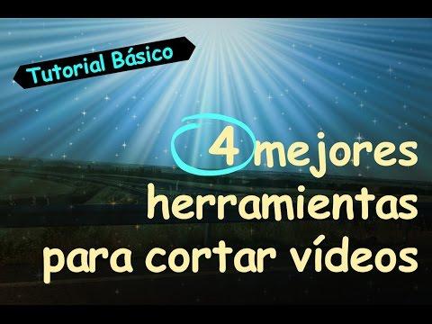 4 mejores herramientas para cortar vídeos│Tutorial Básico