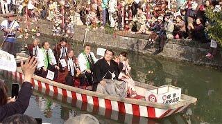 大相撲初場所で悲願の初優勝を果たした琴奨菊を祝うパレードが3月5日...