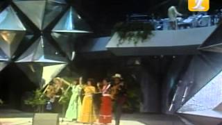 Trigal de Graneros, Raíz del Arbol de Chile Festival de #ViñadelMar 1985, Competencia Folclórica