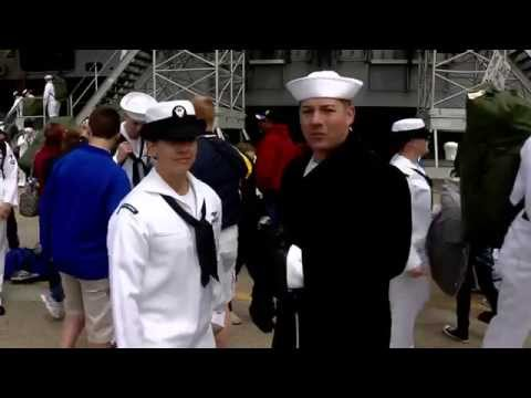 USS Harry S Truman (CVN 75) homecoming broadcast (Part 3 of 3)