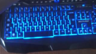 Review e Demonstração do Teclado Multilaser Warrior Gamer TC167 (Teclado com LED)