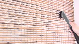 How to Clean Bamboo Shades