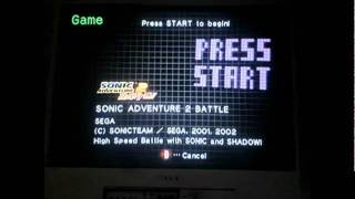 Sonic Adventure 2 Battle-4 NOOOO GAMECUBE NOOOOOOOOOOO!!!!!!!!