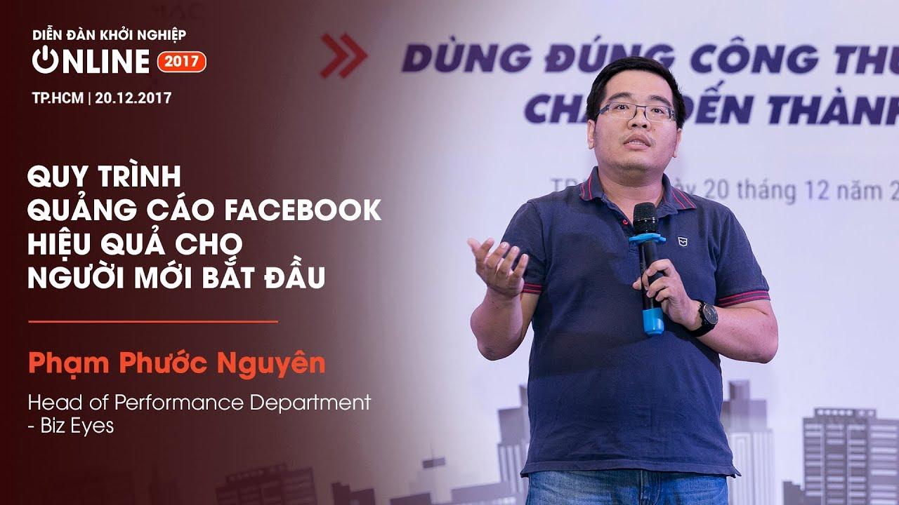 [Diễn đàn Khởi Nghiệp Online 2017] Chia sẻ từ Ông Phạm Phước Nguyên