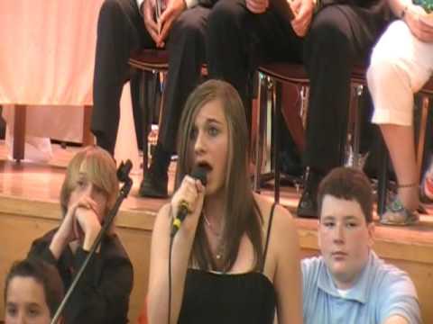 Sarah sings Hallelujah