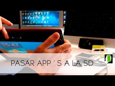 Samsung Galaxy Tab Note 10.1 Pasar O Transferir Aplicaciones A La  Micro SD