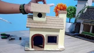 Miniatur Rumah Kecil Cantik