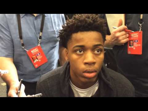 Deyonta Davis says being at NBA combine a dream come true