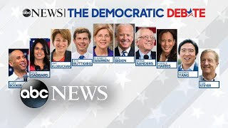 10 Democratic candidates set to face off in 5th debate l ABC News