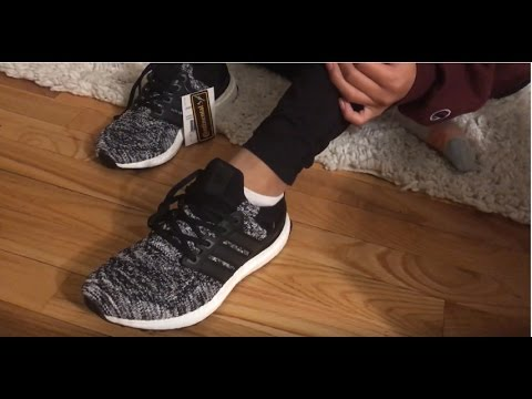 756c2395e Reigning Champ X Adidas Ultra Boost Unboxing and On Foot - YouTube