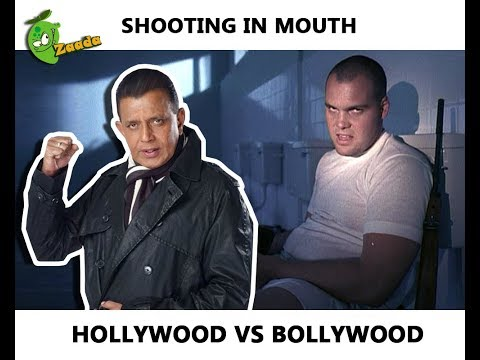 Gun Shot in Mouth: Hollywood Vs. Bollywood (Worst Stupid Scene Ever)