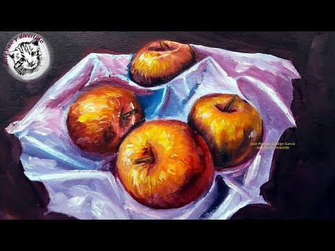 pintura-al-oleo-paso-a-paso-|-como-pintar-manzanas-realistas-al-oleo-2/2