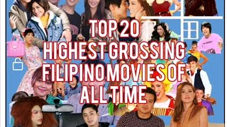 Highest Grossing Filipino Movies of All Time   As of June 30, 2019