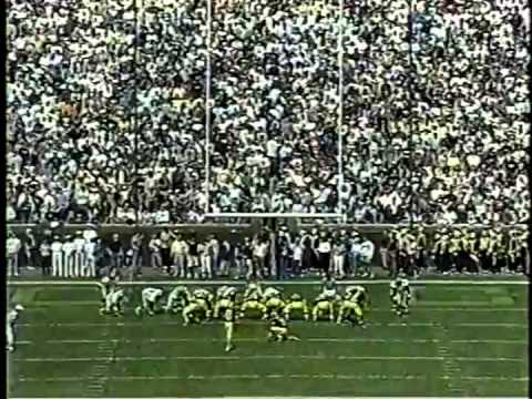 1997 Michigan vs. Baylor
