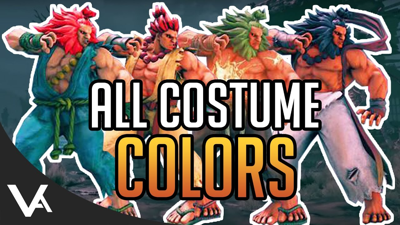 street fighter 5 akuma costumes