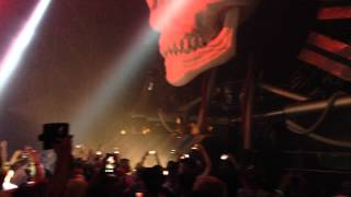 Angerfist - Mad-E-Fact - The Hustle @ Q-Base 2015-09-12
