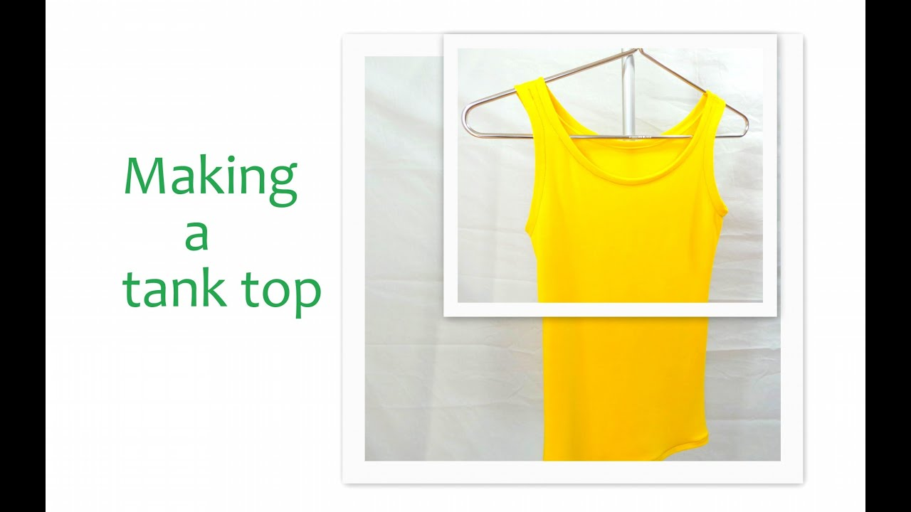 How to sew a perfect tank top step by step youtube jeuxipadfo Gallery