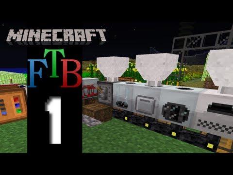Minecraft Feed The Beast - S2E1 - A Fresh Start