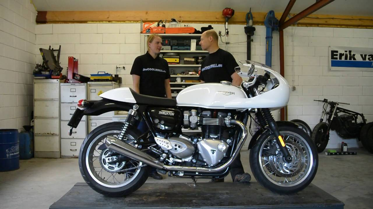 thecoolwall review triumph thruxton 1200 youtube. Black Bedroom Furniture Sets. Home Design Ideas