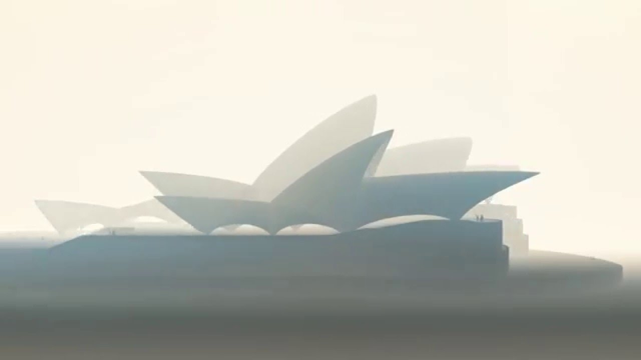 Architecture House Competition sydney opera house: model of utzon's competition entry for a