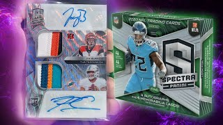 MY BEST PULL EVER! 2020 Panini Spectra Football Pack Opening!