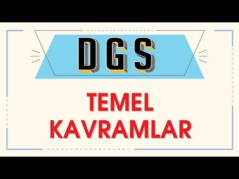 DGS - TEMEL KAVRAMLAR - ŞENOL HOCA
