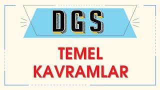 DGS  TEMEL KAVRAMLAR  ŞENOL HOCA
