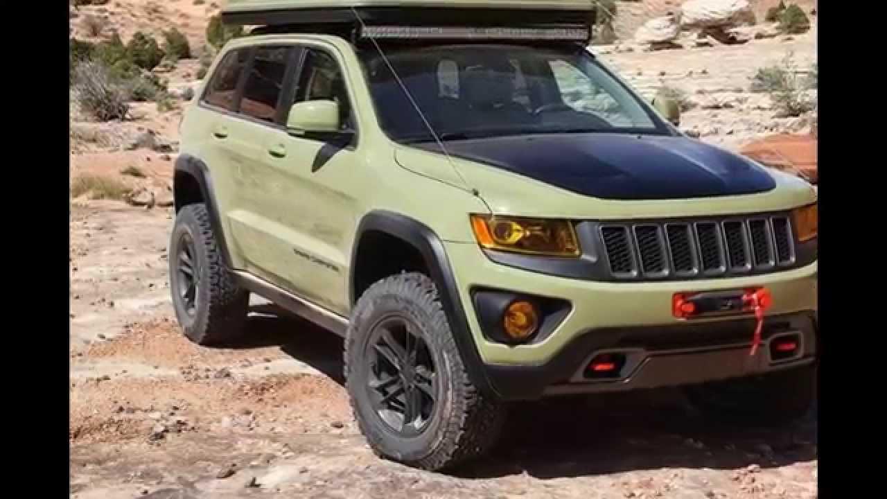 Jeep Grand Cherokee Overlander Concept (WK2) '2015 / ДЖИП ...
