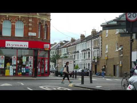 UK-London Streets-North End Road-Fulham- SW6