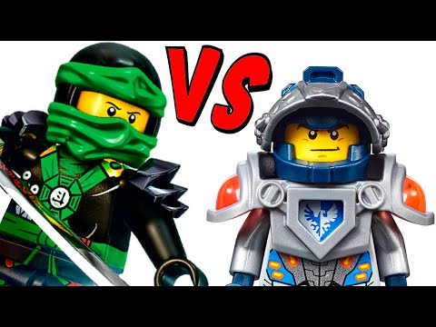 LEGO Nexo Knights VS Ninjago Which is better?