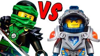 LEGO Nexo Knights VS Ninjago Which is better?