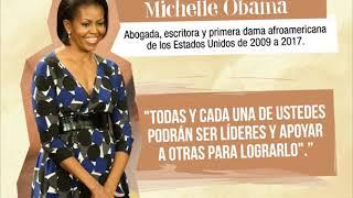 Animación · Michelle Obama