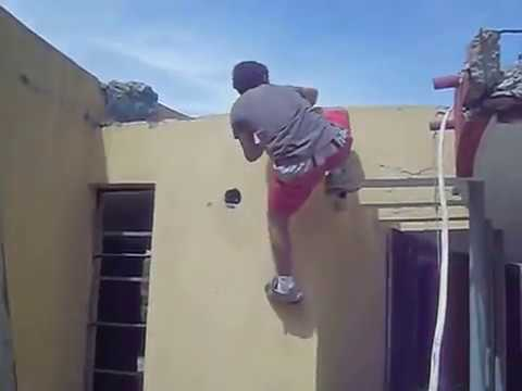 Christian Langlois Parkour / Free Running xP
