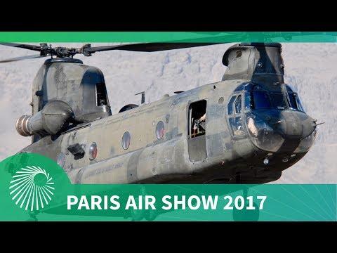 Paris Air Show 2017: US Army CH-47F Chinook