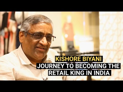 CEO of Future Group Kishore Biyani | Retail King of India | YourStory