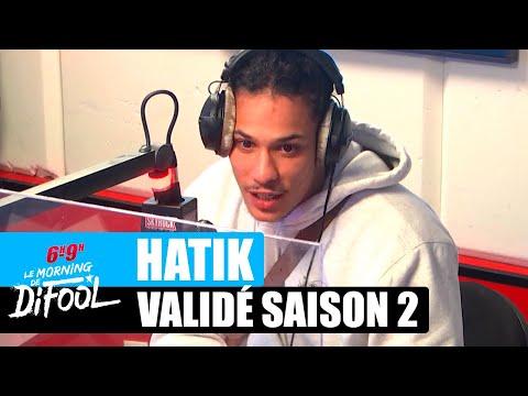 Youtube: Hatik parle de la série Validé saison 2! #MorningDeDifool