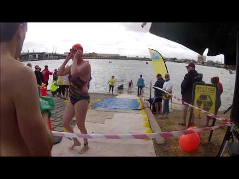 2016 Swim Through Port Adelaide 2km finish