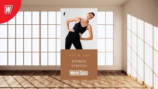 EXPRESS STRETCH с Олесей Горковенко 13 мая 2020 Онлайн тренировки World Class
