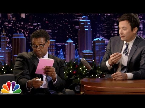 Thumbnail: Denzel Washington Dramatically Reads Greeting Cards