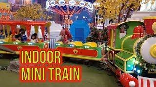 Naik Kereta Api Indoor Mini Train