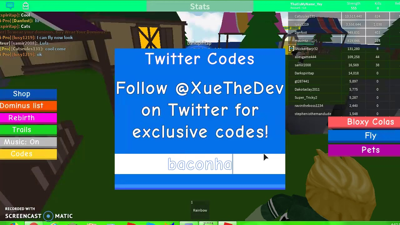 roblox lifting simulator codes