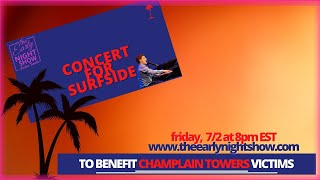 Benefit Concert for Champlain Towers Collapse Victims featuring Broadway and Film actors from S FL