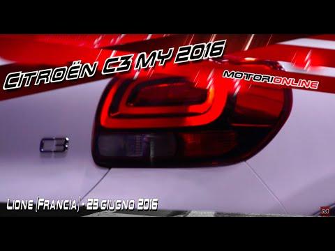 Nuova Citroën C3 MY 2016 | La presentazione dal vivo a Lione